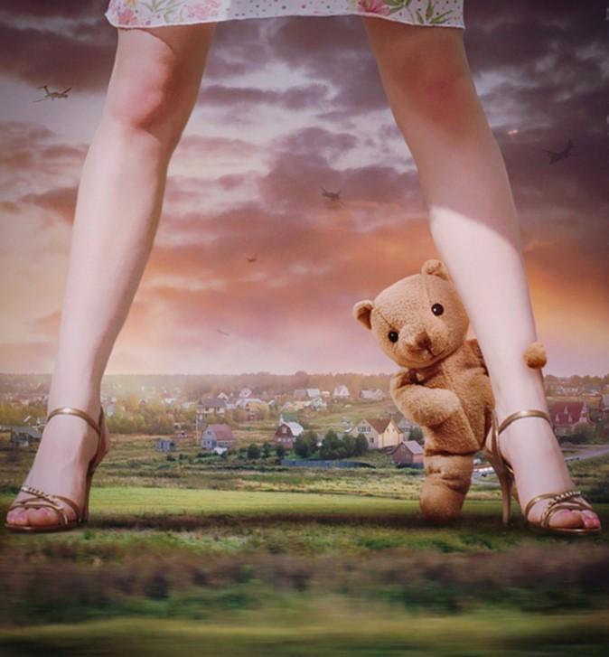 Медведь и ноги