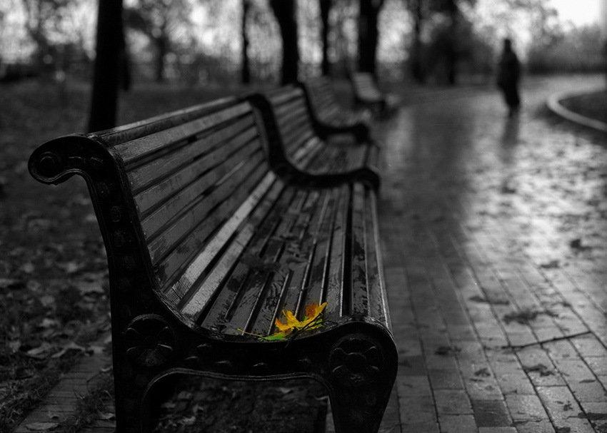 Любовь на скамейке