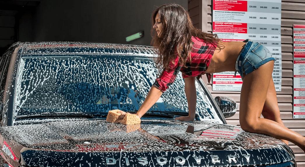 Помыл машину - пошел снег