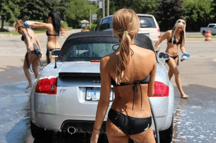 Помыл машину зимой