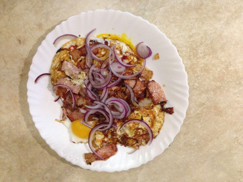 яичница с беконом на сковороде рецепты