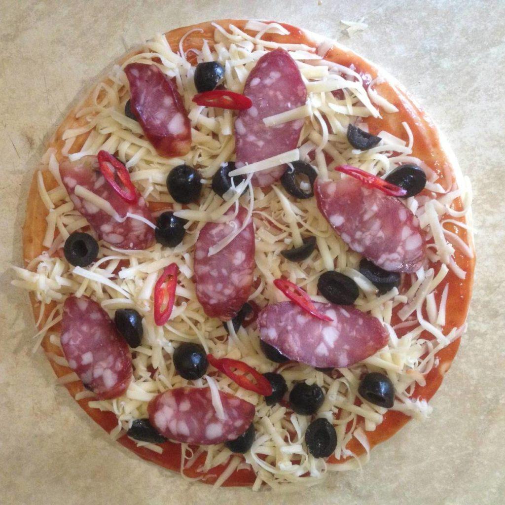 Самый простой рецепт пиццы