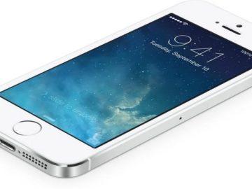 Моргает яблоко iphone 5